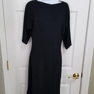 Beautifully simple, little black dress by Moda Int